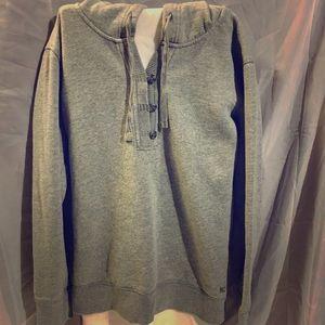 Eddie Bauer Women's hoodie. Size Med. Gray.